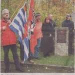 Gedenkfeier am KZ Friedhof Plattenwald