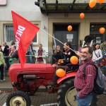 TTIP Aktionstag in Besigheim vor dem Bahnhof. Foto W.Kubach