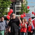 Am 8.5. begann der unbefristete Streik der Beschäftigten in den Sozial- und Erziehungsdiensten.