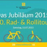 Die Rad- & Rollitour fand bereits zum 20.mal statt.