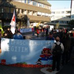 Verdi Kundgebung vor dem Amtsgericht Heilbronn.     (Bild: Michael Weiß)