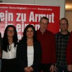 Johannes Müllerschön, Ayse Boran, Gökay Akbulut, Konrad Wanner (Ersatzkandidat HN), Heiko Bluhm (Ersatzkandidat Eppingen) und Volker Bohn.