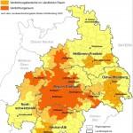Zur Metropolregion gehören ausser Stuttgart auch die Regionen Heilbronn-Franken, Ostwürttemberg, Neckar-Alb und Nordschwarzwald