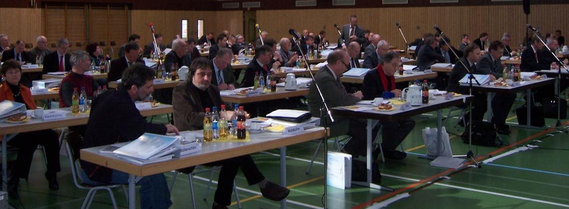 Regionalversammlung der Region Heilbronn-Franken in Boxberg. 1.Reihe V.l.n.r: Johannes Müllerschön (stellvertr.