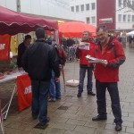 DIE LINKE in Heilbronns Innenstadt