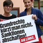 Katja Kipping und Hannemann gegen Hartz IV.
