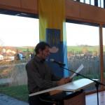 Florian Vollert am 7.12.15 in Gemmingen (Foto: jom)