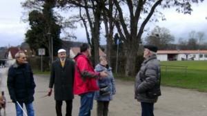 Lebhafter Sonntagsspaziergang in Offenau. (Foto: kw)