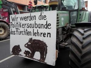 Berechtigter Bauernprotest braucht Solidarität. Sonst gibt es doch was zu fürchten, oder?